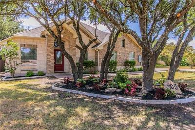 Liberty Hill Single Family Home Pending - Taking Backups: 305 Polo Pony