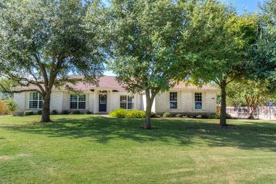 Round Rock TX Single Family Home Pending - Taking Backups: $355,000