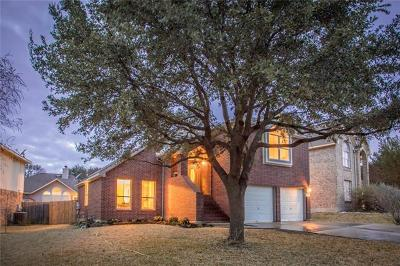 Round Rock Single Family Home For Sale: 3712 Birdhouse Dr