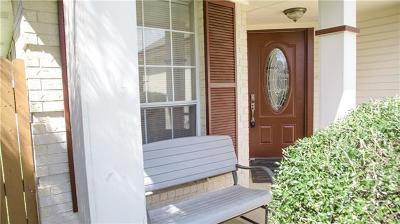 Round Rock Single Family Home Pending - Taking Backups: 1800 Southwestern Trl