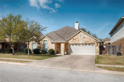 Cedar Park Single Family Home Active Contingent: 2309 Zoa Dr