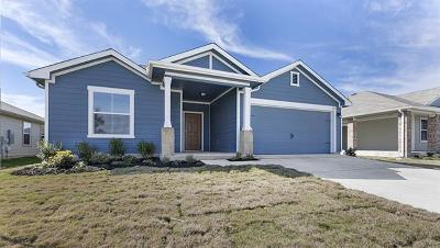 Hutto Single Family Home For Sale: 108 San Bernard Trl