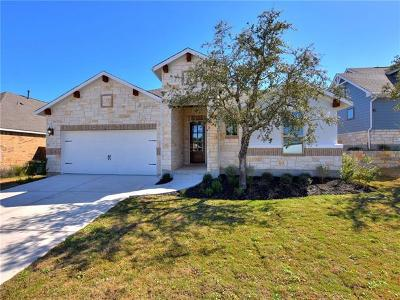 Leander Single Family Home For Sale: 620 Germander Rd