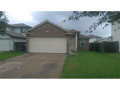 Manor Single Family Home For Sale: 16512 Trevin Cv