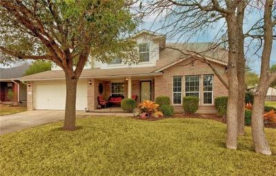 Leander Single Family Home For Sale: 1115 Chardonnay Xing