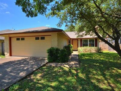 Travis County, Williamson County Single Family Home Pending - Taking Backups: 12621 Dringenberg Dr