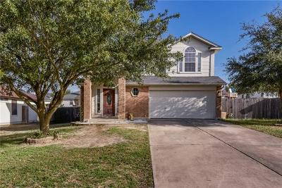 Hutto Single Family Home For Sale: 107 Cattail Cv