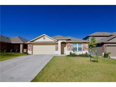 Manor Single Family Home For Sale: 18905 Great Falls Dr