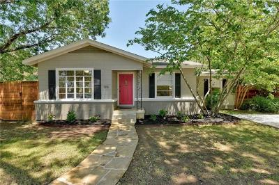 Travis County Single Family Home For Sale: 1916 W 37th St