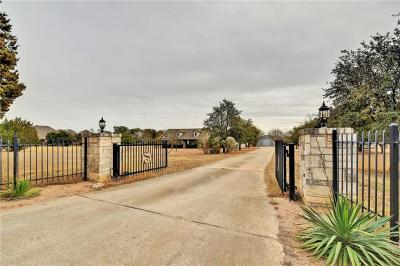 Leander TX Single Family Home For Sale: $850,000