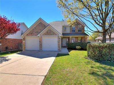 Round Rock Single Family Home For Sale: 2983 Overland St