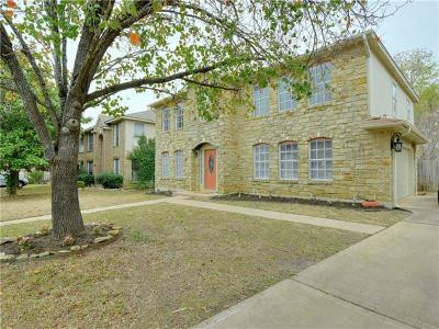 Round Rock Single Family Home For Sale: 8501 Fern Bluff Ave