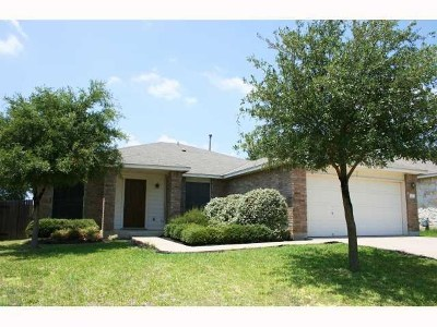 Round Rock Single Family Home For Sale: 3402 Flowstone Ln
