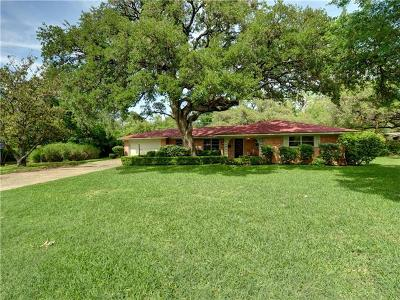 Travis County Single Family Home For Sale: 4505 Greenbriar Ct