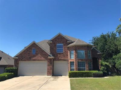 Cedar Park Single Family Home Pending - Taking Backups: 2924 Zambia Dr