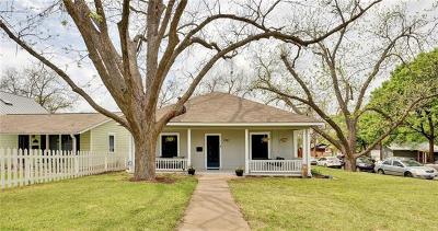 Austin Single Family Home For Sale: 1700 Eva St #1