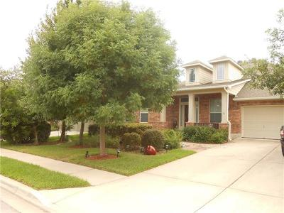 Cedar Park Single Family Home Pending - Taking Backups: 1007 Williams Way