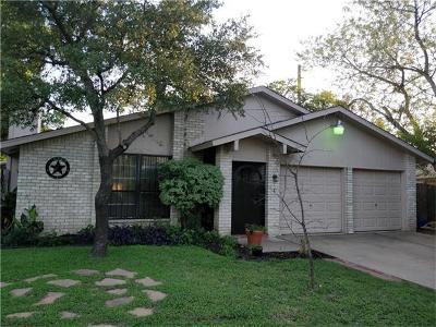 Travis County Single Family Home Pending - Taking Backups: 11507 Sandy Loam Trl
