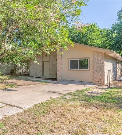 Austin Single Family Home For Sale: 2219 Bitter Creek Dr
