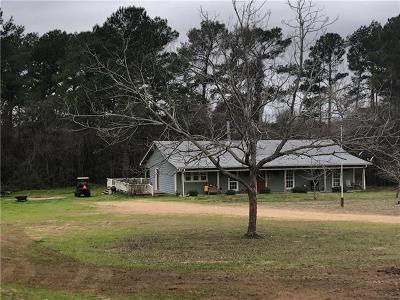 Bastrop Single Family Home Pending - Taking Backups: 409 Laura Ln
