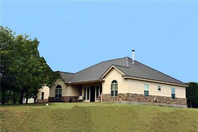 Marble Falls Single Family Home For Sale: 232 County Road 144a