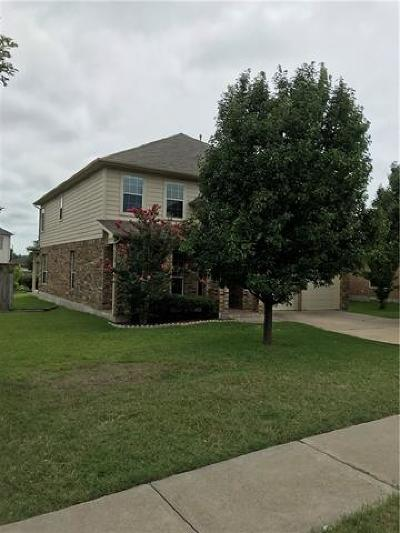 Pflugerville Single Family Home For Sale: 2801 Purple Thistle Dr