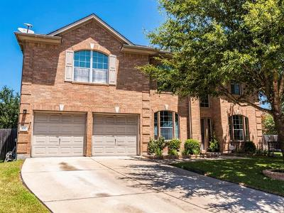 Cedar Park Single Family Home Active Contingent: 402 Clear Creek Cv