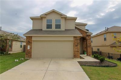Hays County, Travis County, Williamson County Single Family Home Pending - Taking Backups: 10221 Crescendo Ln