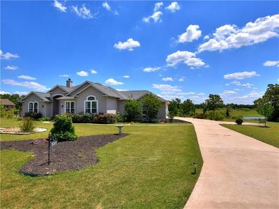 Bastrop Single Family Home Pending - Taking Backups: 157 Territory Dr