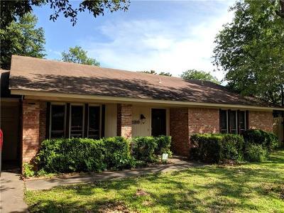 Austin Single Family Home Pending - Taking Backups: 9801 Kendal Dr