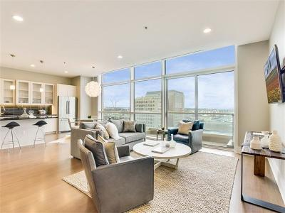 Austin Condo/Townhouse For Sale: 555 E 5th St #925