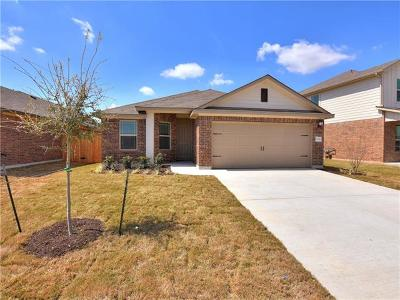 Manor Single Family Home For Sale: 13725 Fallsprings Way