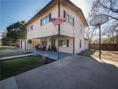 Burnet Single Family Home For Sale: 808 S Main St