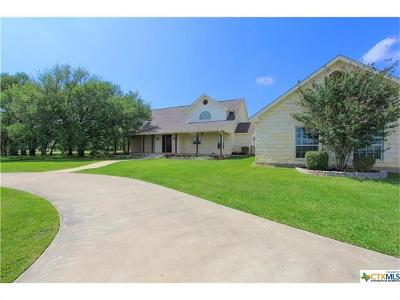 Salado Single Family Home For Sale: 1476 Long Mdw