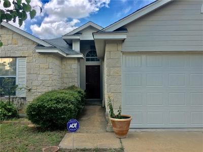 Hutto Single Family Home For Sale: 319 Estate Dr