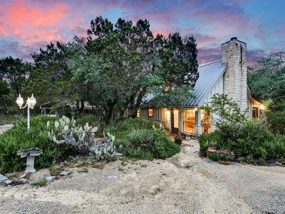 Wimberley Single Family Home Pending - Taking Backups: 751 Lakeside Dr