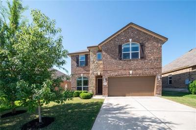 Hutto Single Family Home For Sale: 205 Yukon Cv