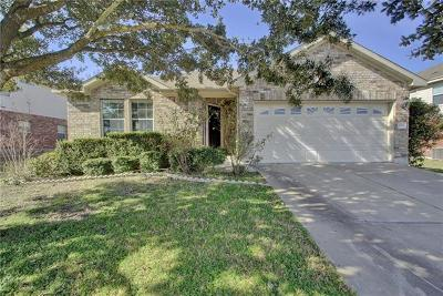 Pflugerville Single Family Home For Sale: 20208 Farm Pond Ln