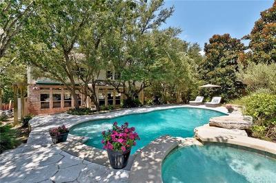 Austin Single Family Home Pending - Taking Backups: 3809 Mira Vista Dr