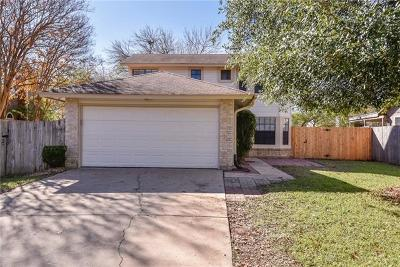 Cedar Park Single Family Home Pending - Taking Backups: 3005 Red Bay Dr