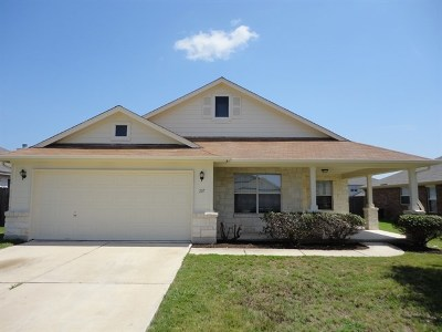 Hutto Rental For Rent: 207 Waterlily Way