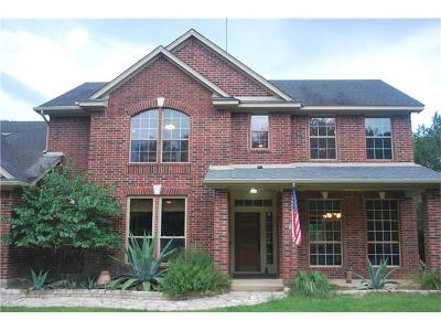 Wimberley Single Family Home For Sale: 300 Cave Springs Dr