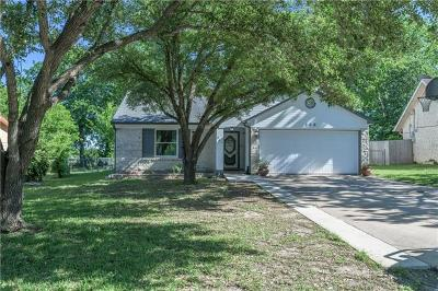 Hutto Single Family Home Pending - Taking Backups: 106 Johnson Cv
