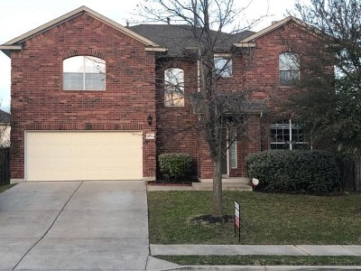 Round Rock Single Family Home For Sale: 4497 Western Lake Dr