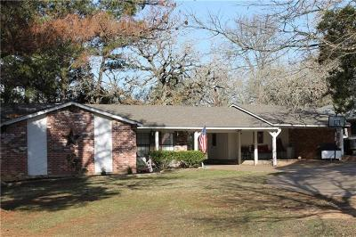 Bastrop Single Family Home Pending - Taking Backups: 135 Green Acres Loop