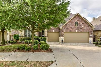 Round Rock Single Family Home Active Contingent: 1987 Canyon Sage Path
