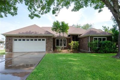 Round Rock Single Family Home For Sale: 104 E Nakoma