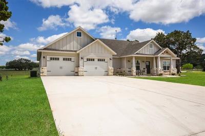 Burnet County Single Family Home Pending - Taking Backups: 106 Wranglers Way