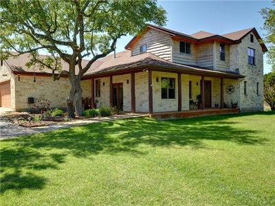 Dripping Springs Single Family Home For Sale: 1018 Canyon View Rd
