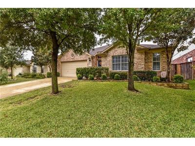 Round Rock Single Family Home For Sale: 4494 Heritage Well Ln